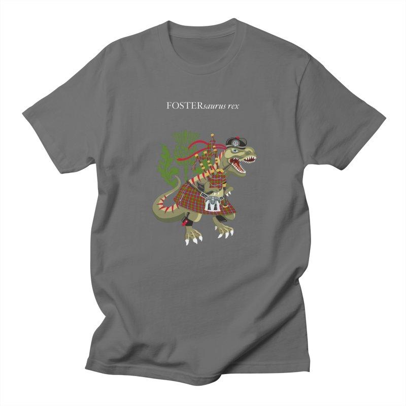Clanosaurus Rex FOSTERsaurus rex Foster Forester Forster Forrester Tartan Men's T-Shirt by BullShirtCo