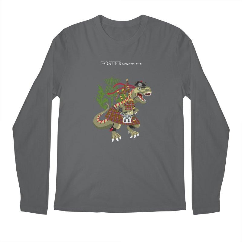 Clanosaurus Rex FOSTERsaurus rex Foster Forester Forster Forrester Tartan Men's Longsleeve T-Shirt by BullShirtCo
