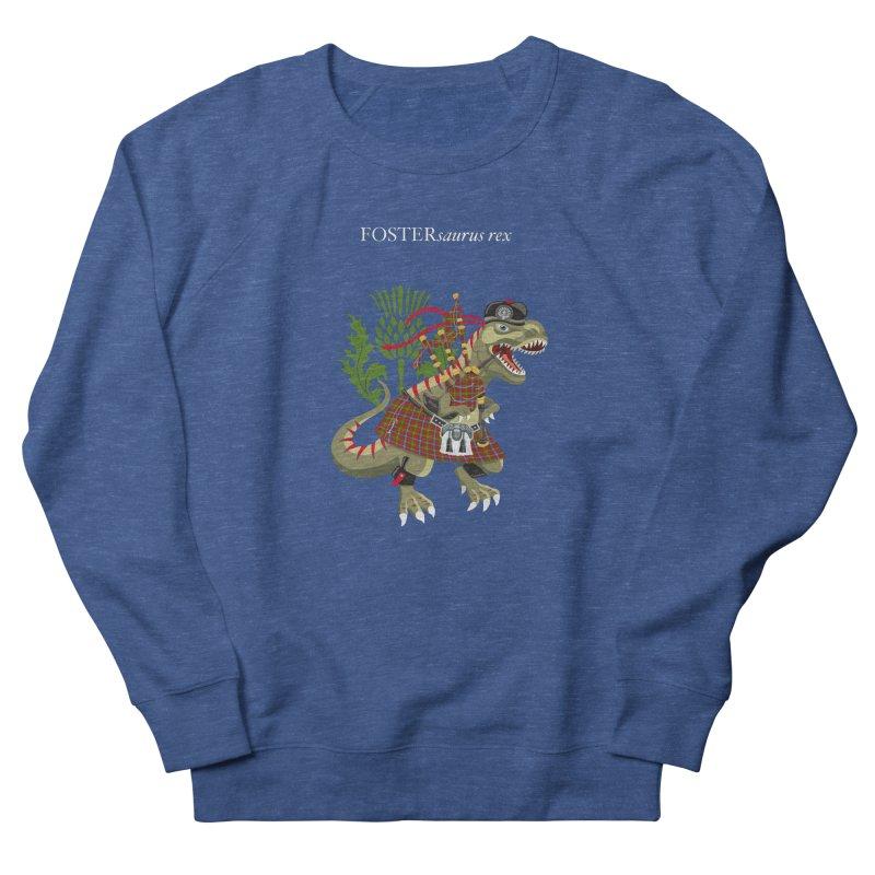 Clanosaurus Rex FOSTERsaurus rex Foster Forester Forster Forrester Tartan Men's Sweatshirt by BullShirtCo