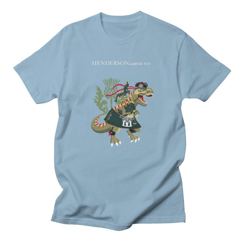 Clanosaurus Rex HENDERSONsaurus rex Henderson Tartan Family Plaid Men's T-Shirt by BullShirtCo