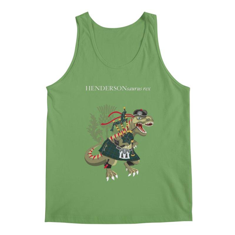 Clanosaurus Rex HENDERSONsaurus rex Henderson Tartan Family Plaid Men's Tank by BullShirtCo