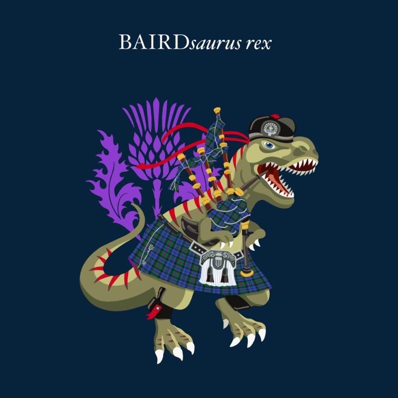 Clanosaurus Rex BAIRDsaurus rex Plaid BAIRD Family Tartan Men's T-Shirt by BullShirtCo