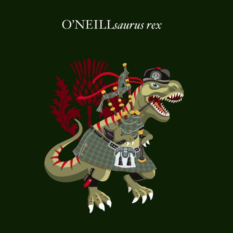 Clanosaurus Rex O'NEILLsaurus rex Plaid O'Neill Family Tartan Women's T-Shirt by BullShirtCo