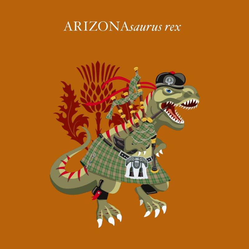 Clanosaurus Rex ARIZONAsaurus rex Plaid Arizona USA American Family Tartan Clan Men's T-Shirt by BullShirtCo