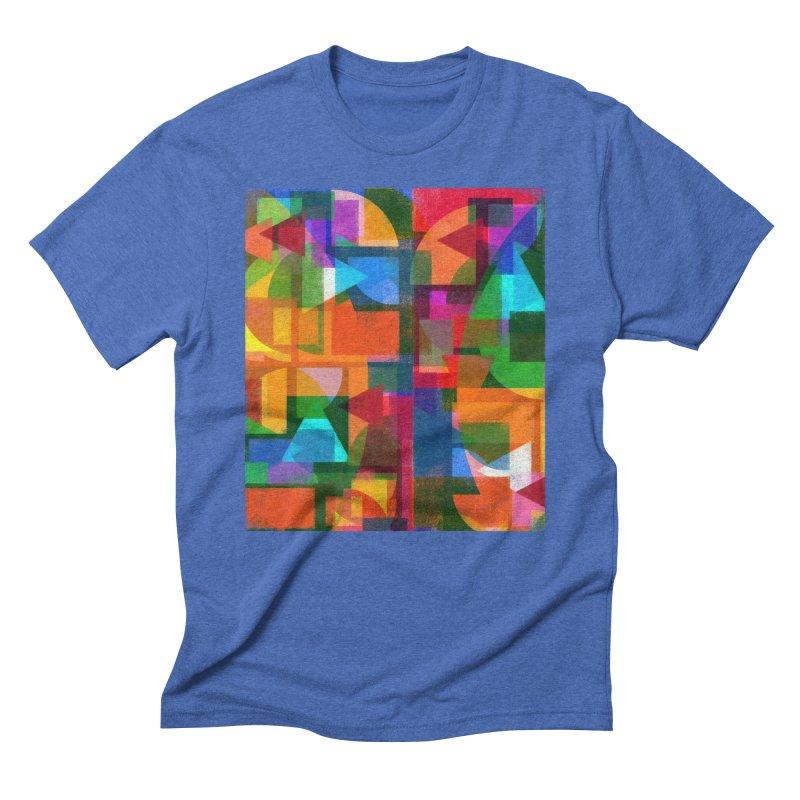Memento in Men's Triblend T-Shirt Blue Triblend by bulo
