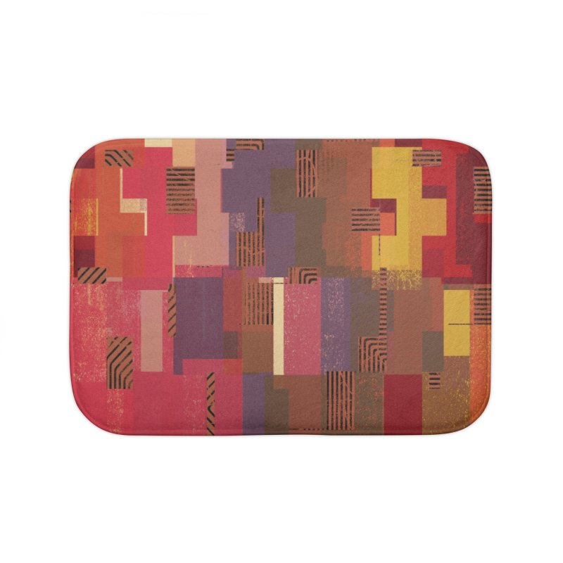 Memento Home Bath Mat by bulo