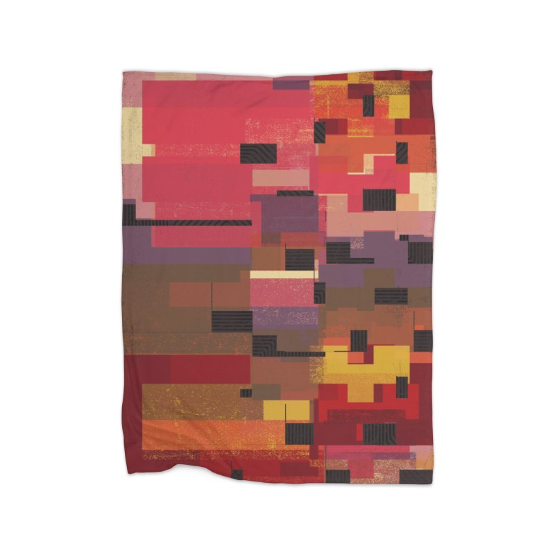 Memento Home Fleece Blanket Blanket by bulo