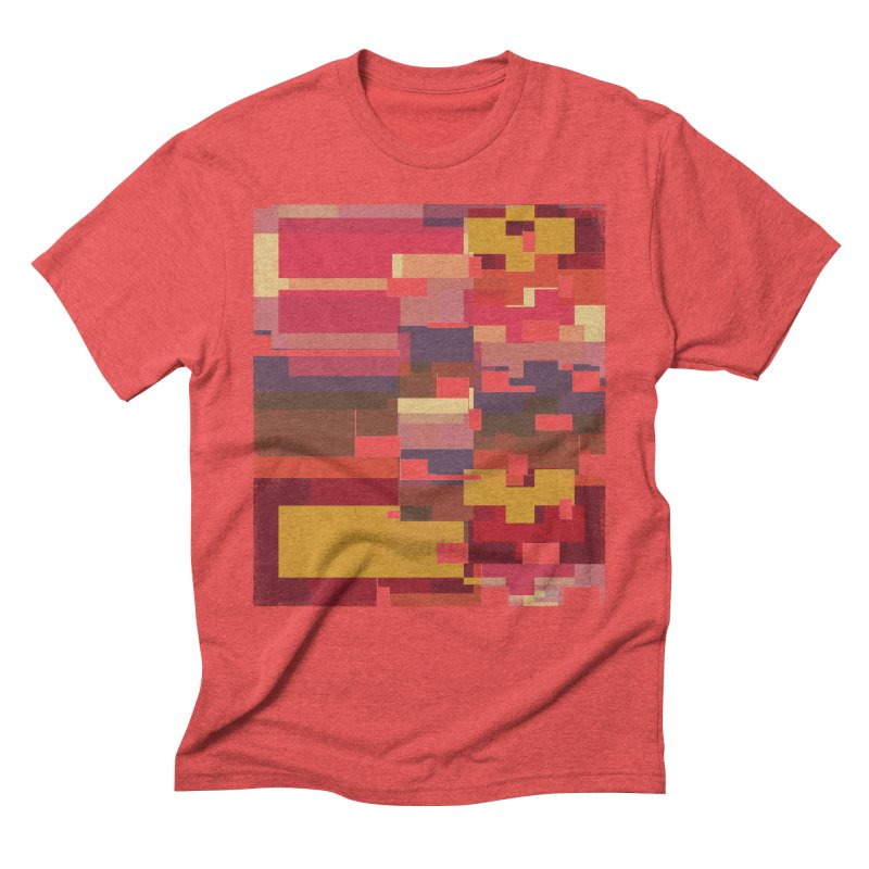 Memento in Men's Triblend T-Shirt Chili Red by bulo