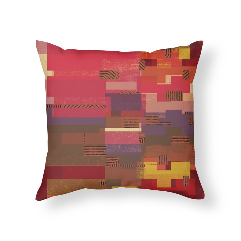 Memento Home Throw Pillow by bulo