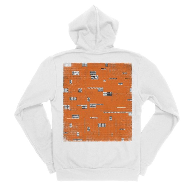 Memento Men's Sponge Fleece Zip-Up Hoody by bulo