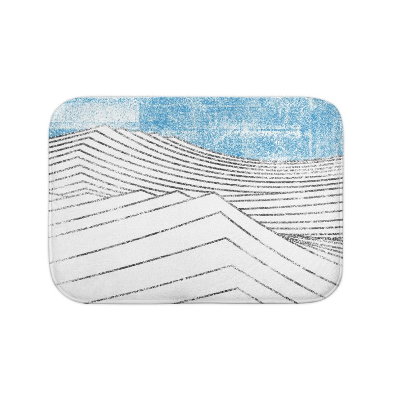 Ocean Smell - extra salty version Home Bath Mat by bulo