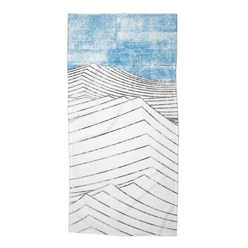 Ocean Smell - extra salty version Accessories Beach Towel by bulo