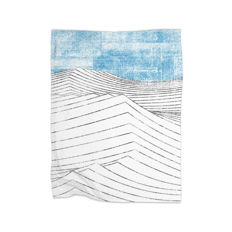 Ocean Smell - extra salty version Home Fleece Blanket Blanket by bulo