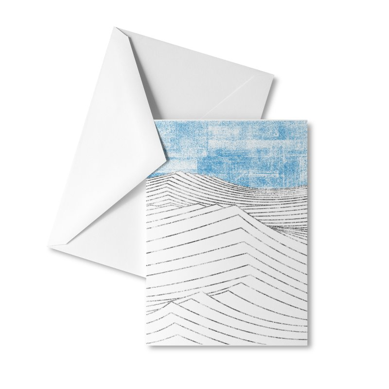 Ocean Smell - extra salty version Accessories Greeting Card by bulo