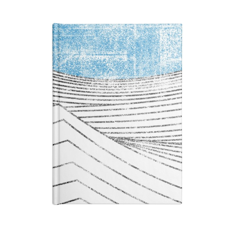 Ocean Smell - extra salty version Accessories Blank Journal Notebook by bulo