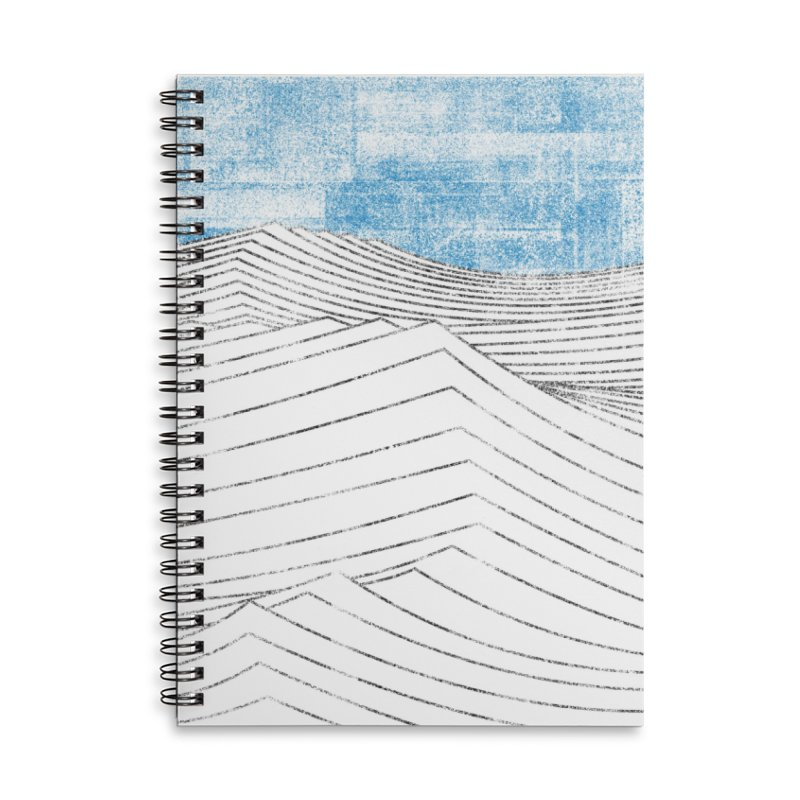 Ocean Smell - extra salty version Accessories Lined Spiral Notebook by bulo