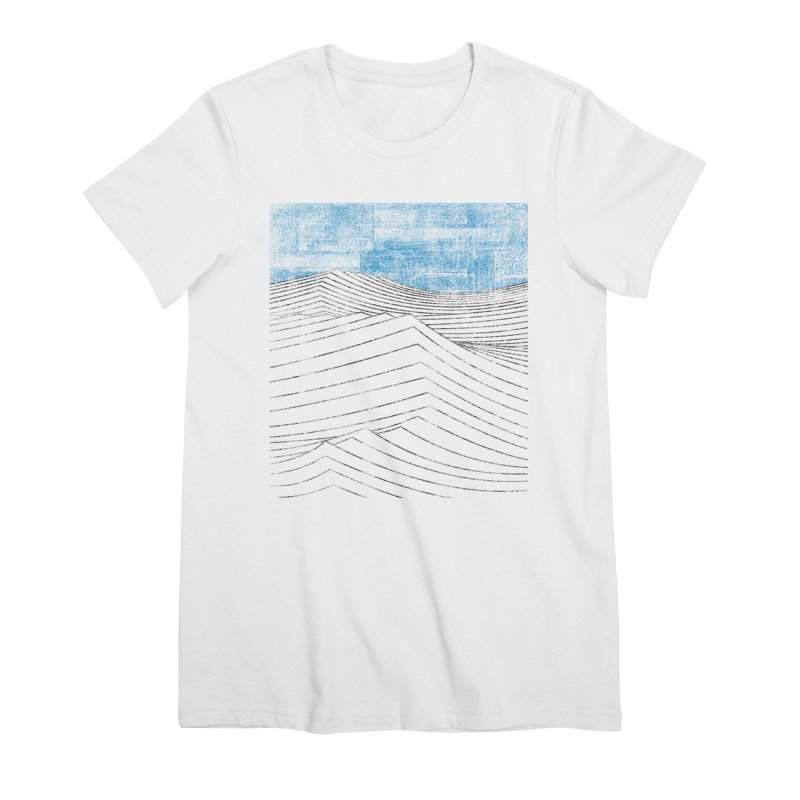 Ocean Smell - extra salty version Women's Premium T-Shirt by bulo