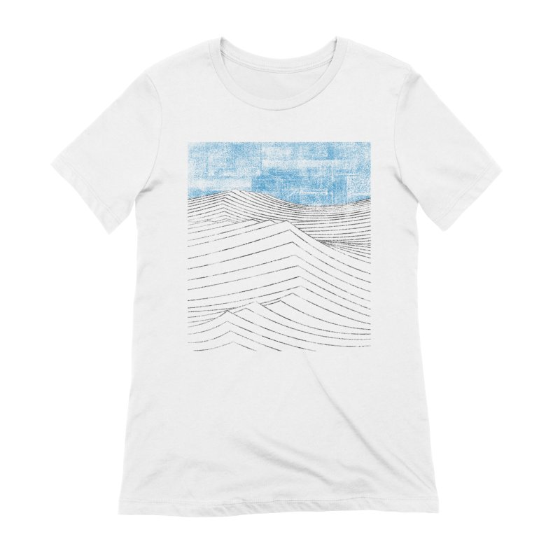 Ocean Smell - extra salty version Women's Extra Soft T-Shirt by bulo