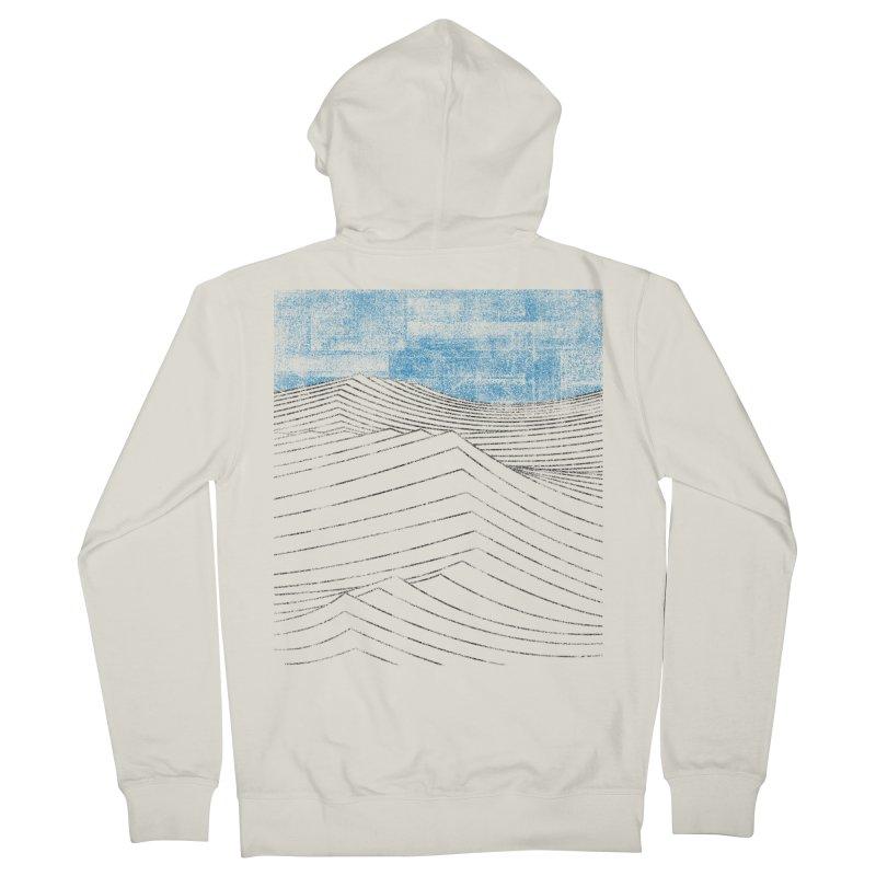 Ocean Smell - extra salty version Men's French Terry Zip-Up Hoody by bulo