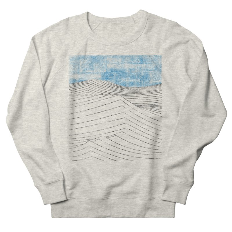 Ocean Smell - extra salty version Men's French Terry Sweatshirt by bulo