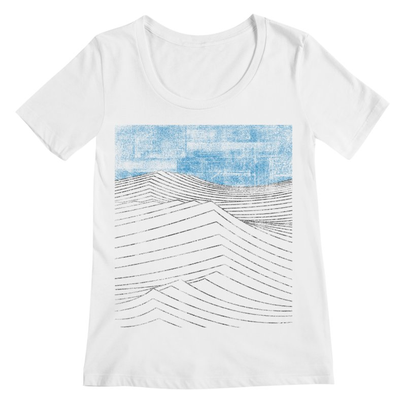 Ocean Smell - extra salty version Women's Regular Scoop Neck by bulo