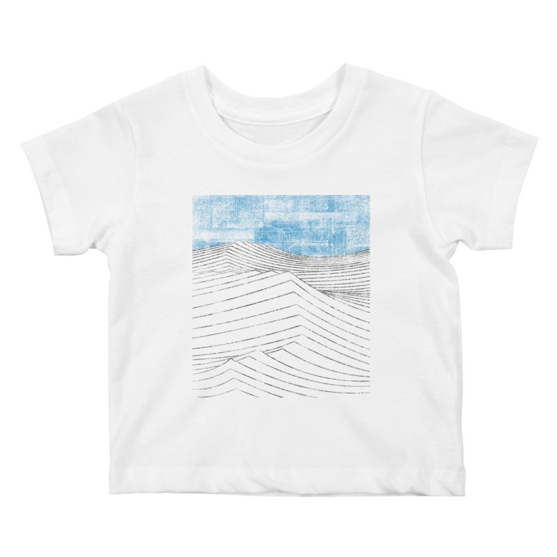 Ocean Smell - extra salty version Kids Baby T-Shirt by bulo