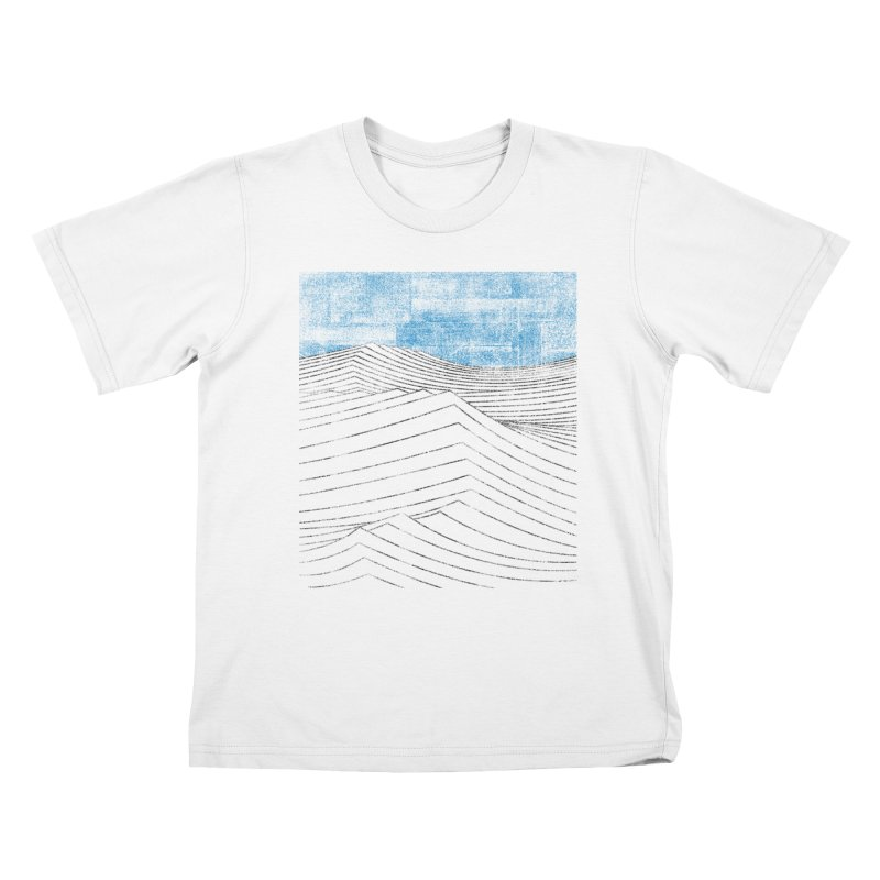 Ocean Smell - extra salty version Kids T-Shirt by bulo