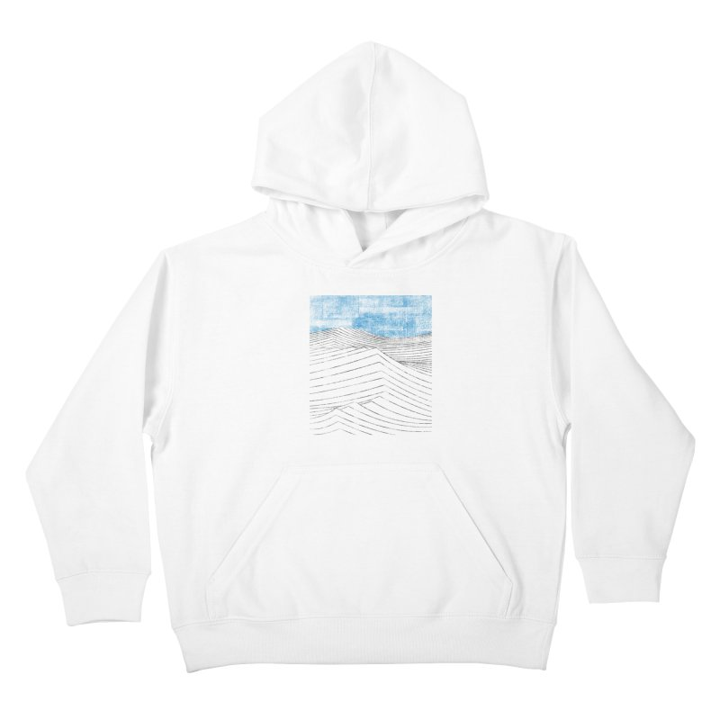 Ocean Smell - extra salty version Kids Pullover Hoody by bulo