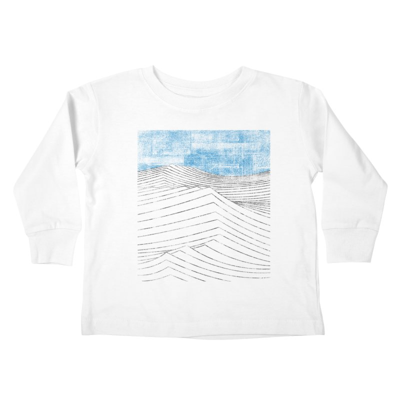 Ocean Smell - extra salty version Kids Toddler Longsleeve T-Shirt by bulo