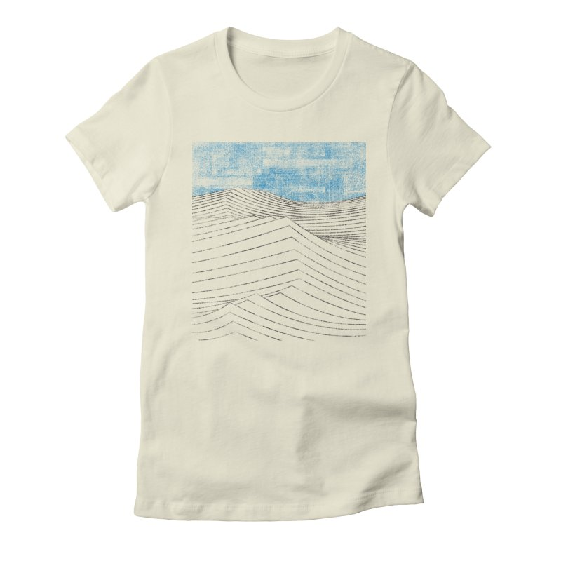 Ocean Smell - extra salty version Women's Fitted T-Shirt by bulo