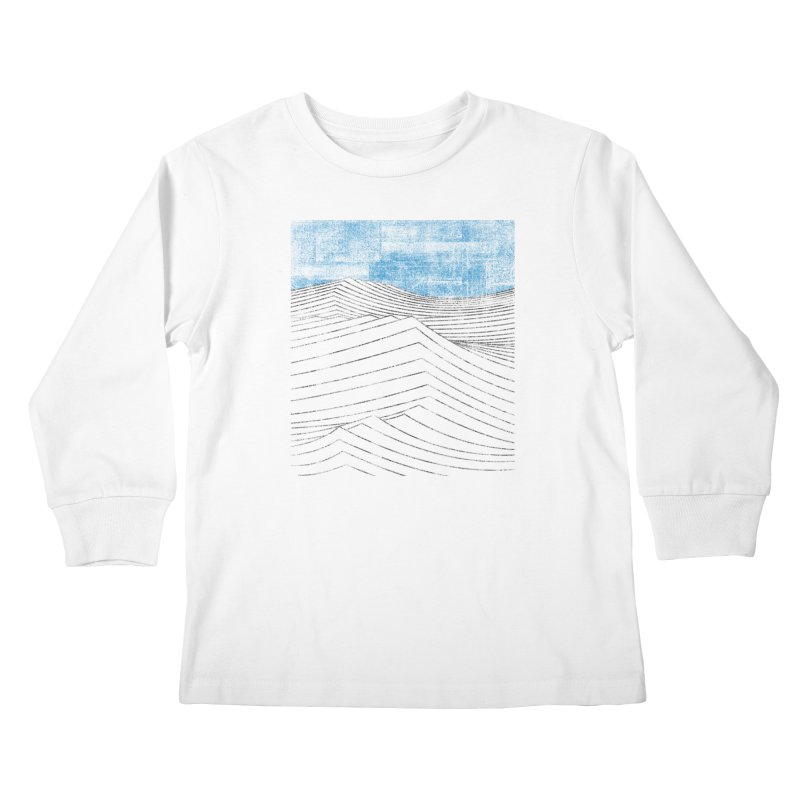 Ocean Smell - extra salty version Kids Longsleeve T-Shirt by bulo