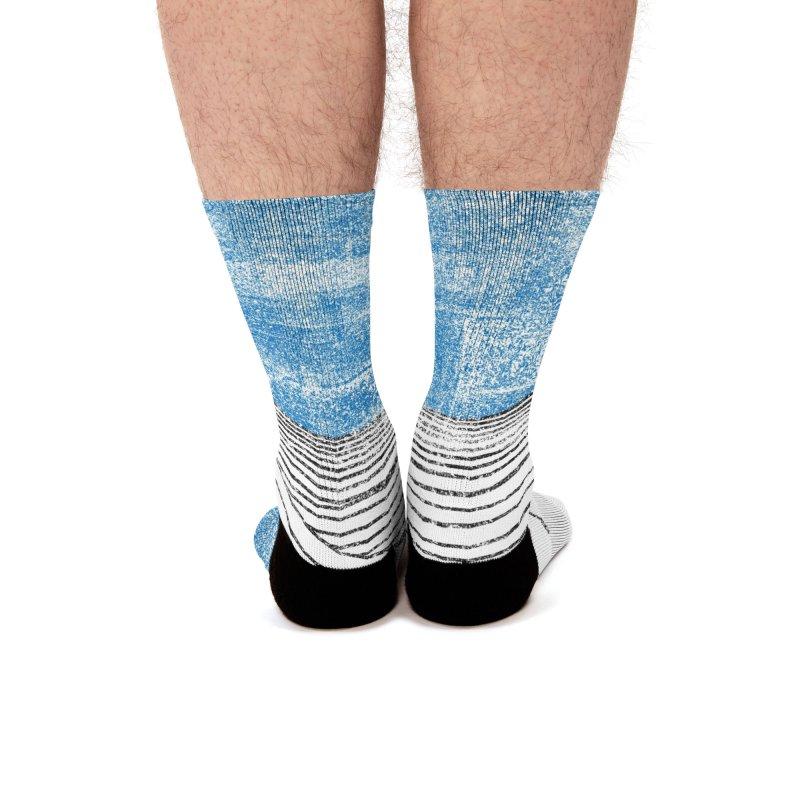 Ocean Smell - extra salty version Men's Socks by bulo