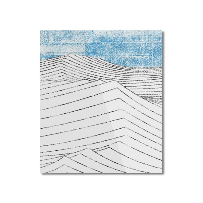 Ocean Smell - extra salty version Home Mounted Aluminum Print by bulo