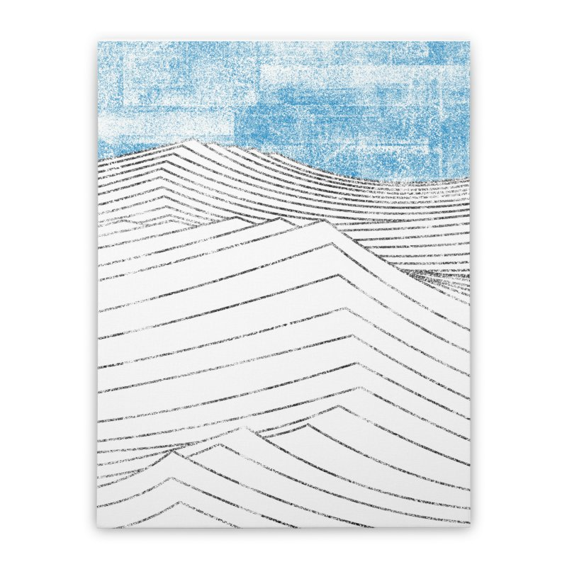 Ocean Smell - extra salty version Home Stretched Canvas by bulo
