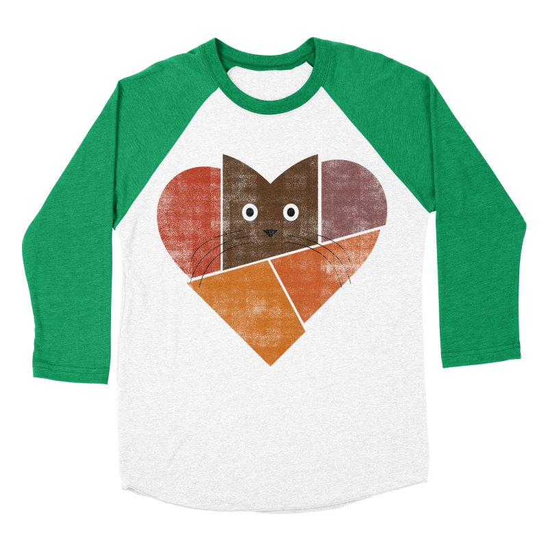 Curiosity Women's Baseball Triblend Longsleeve T-Shirt by bulo
