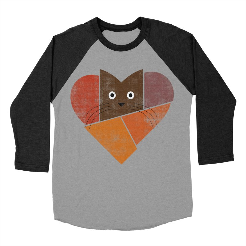 Curiosity Men's Baseball Triblend Longsleeve T-Shirt by bulo