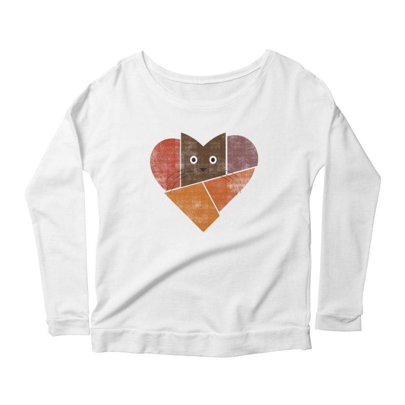 Curiosity Women's Scoop Neck Longsleeve T-Shirt by bulo