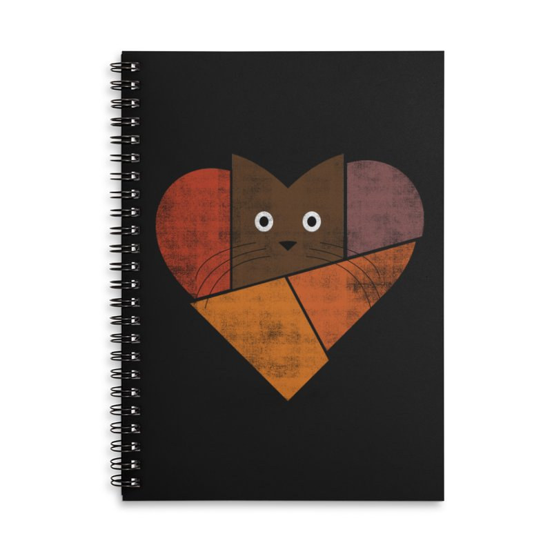 Curiosity Accessories Lined Spiral Notebook by bulo