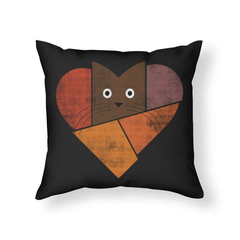 Curiosity Home Throw Pillow by bulo