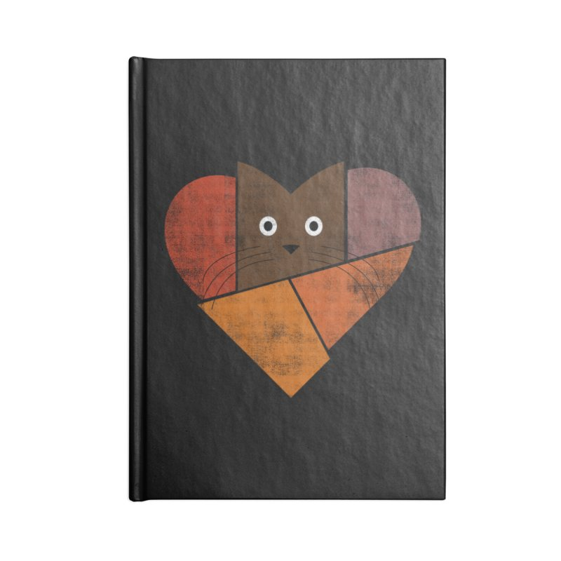 Curiosity Accessories Blank Journal Notebook by bulo