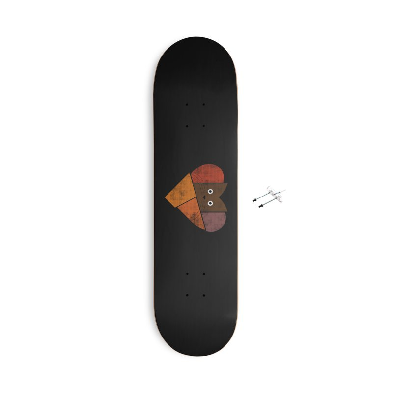 Curiosity Accessories With Hanging Hardware Skateboard by bulo