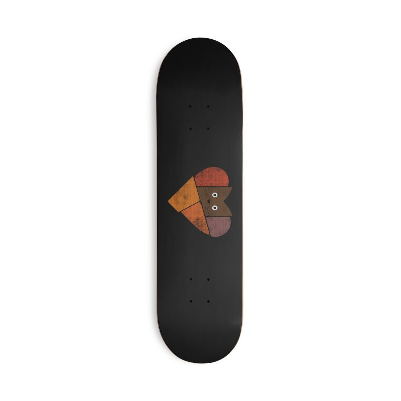 Curiosity Accessories Deck Only Skateboard by bulo