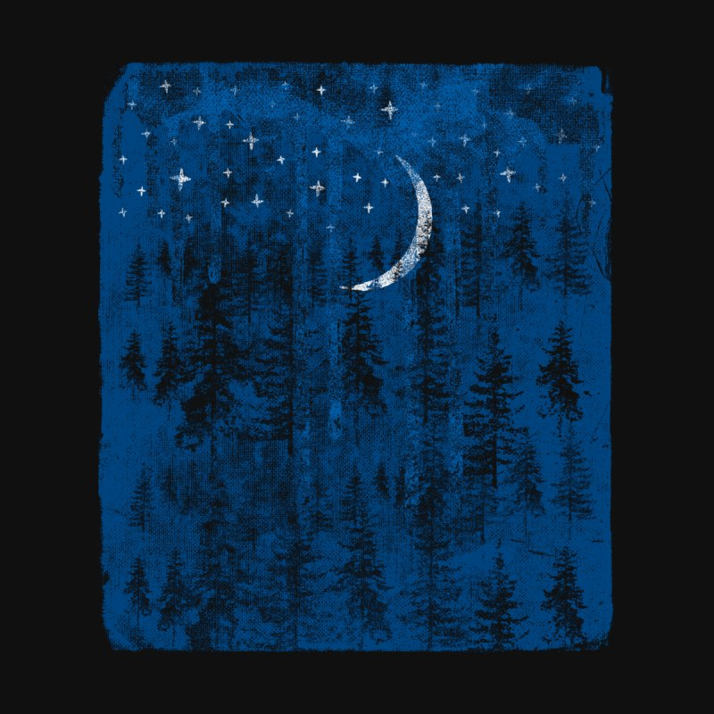 Blue Forest Kids Baby T-Shirt by bulo