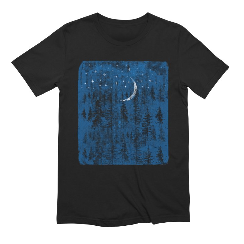 Blue Forest Men's T-Shirt by bulo