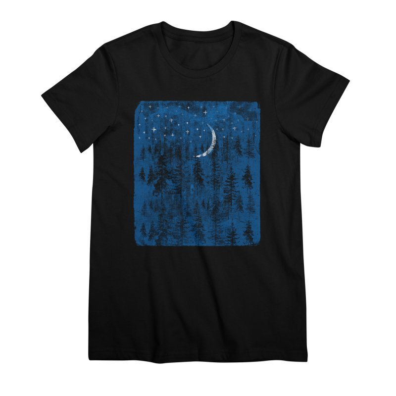 Blue Forest Women's Premium T-Shirt by bulo