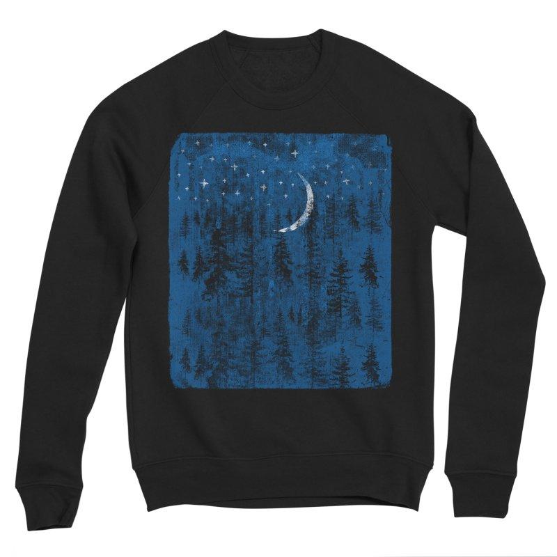 Blue Forest Men's Sponge Fleece Sweatshirt by bulo