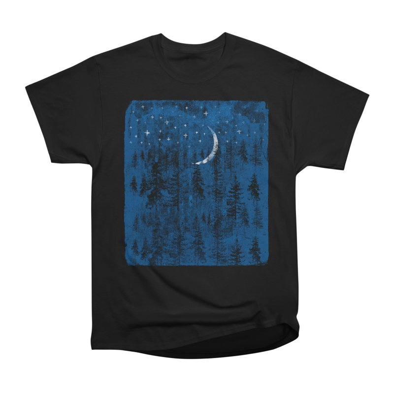 Blue Forest Men's Heavyweight T-Shirt by bulo