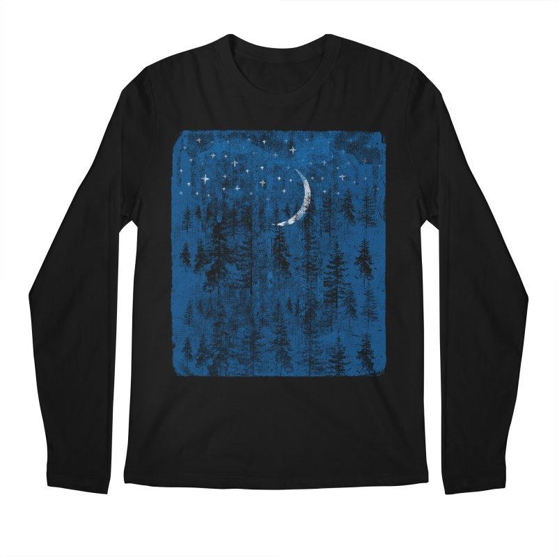 Blue Forest Men's Regular Longsleeve T-Shirt by bulo