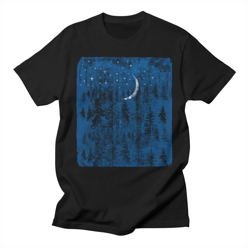 Blue Forest Men's Regular T-Shirt by bulo