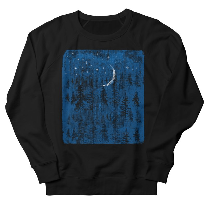 Blue Forest Men's French Terry Sweatshirt by bulo